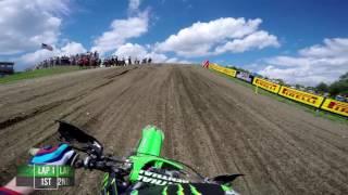 Download GoPro: Adam Cianciarulo Moto 1 - Unadilla MX Lucas Oil Pro Motocross Championship 2016 Video