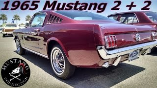 Download $50,000 1965 Mustang Fastback 2+2@ Auctions America Santa Monica 2015 Video