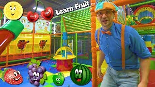 Download Learn Fruits with Blippi | Educational Indoor Playground Videos for Kids Video