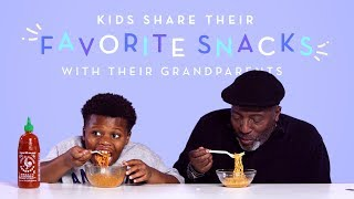 Download Kids Share Their Favorite Snacks with Their Grandparents | Kids Try | HiHo Kids Video