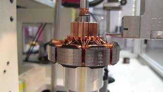 Download Nadelwickeln von außengenuteten Statoren auf einer NWS Video