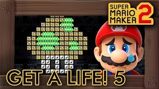 Download Super Mario Maker 2 - Get A Life! 5: Mansion Madness Video