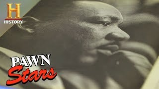 Download Pawn Stars: Anti-War Pamphlet Signed by Martin Luther King, Jr. (Season 15) | History Video