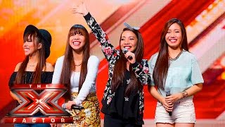 Download 4th Power raise the roof with Jessie J hit | Auditions Week 1 | The X Factor UK 2015 Video