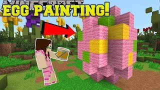 Download Minecraft: EASTER EGG PAINTING CONTEST!! - EASTER EGGCITEMENT - Mini-Game Video