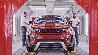 Download CAR FACTORY: 2017 Range Rover Evoque PRODUCTION in Brazil Video
