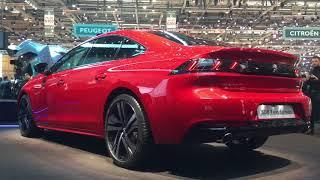Download 2018 Peugeot 508 world premiere walkaround at Geneva Motor Show 2018 Video
