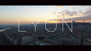 Download LYON - 4K drone video Video