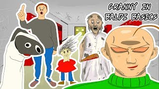Download GRANNY THE HORROR GAME ANIMATION IN BALDI BASICS GAME #1 Video