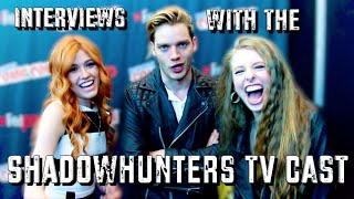 Download INTERVIEWING THE SHADOWHUNTERS TV CAST Video