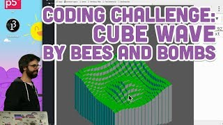 Download Coding Challenge #86: Cube Wave by Bees and Bombs Video