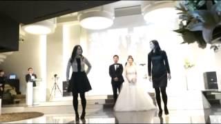 Download 큰언니 결혼식! 두 동생의 축하댄스~ 신랑신부의 자축댄스까지^^ Video
