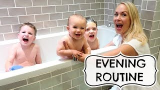 Download EVENING ROUTINE WITH 3 KIDS Video
