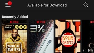 Download How to download, manage and watch Netflix shows and movies offline Video