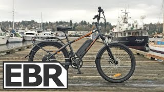 Download Rad Power Bikes RadCity Video Review - $1.5k Quiet Electric Bike with Throttle, Lights, Fenders Video
