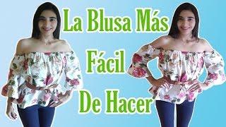 Download ¿CÓMO HACER UNA BLUSA SIN HOMBROS FÁCIL PASO A PASO? ❤ Verito Barbie Video