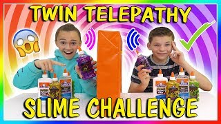 Download TWIN TELEPATHY SLIME CHALLENGE | WE PASSED! | We Are The Davises Video