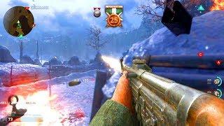 Download COD: WW2 Multiplayer GAMEPLAY - 25+ KILLSTREAK! (NEW GUNS + MORE) Video