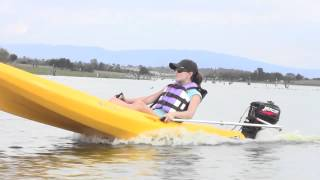 Download Powerkayak Kayak Motorizado - Motorized Outboard Motor Kayak Video