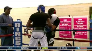 Download IBF World Champion Robert Easter Jr Brings in New Sparring Partners Video