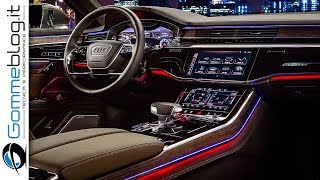 Download 2019 Audi A8 INTERIOR - TECH FEATURES Video