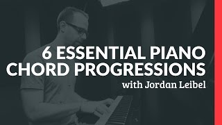 Download 6 Essential Piano Chord Progressions - Piano Lessons (Pianote) Video