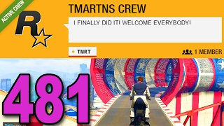Download Grand Theft Auto 5 Multiplayer - Part 481 - I FINALLY MADE A CREW! Video
