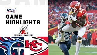 Download Titans vs. Chiefs AFC Championship Highlights | NFL 2019 Playoffs Video