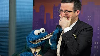 Download John Oliver & Cookie Monster Out-Takes Video