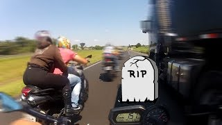 Download DANGEROUS RIDE - 392 Km/H, Almost R.I.P. & more - Best Onboard Compilation [Sportbikes] - Part 3 Video