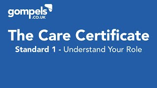 Download The Care Certificate - Standard 1 - Understand Your Role Video