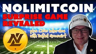 Download NoLimitCoin Surprise Game Revealed!!! plus CEO Interview with Rafael Groswirt Video