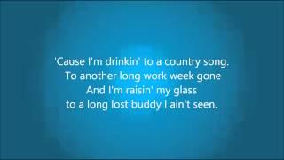 Download Cole Swindell ″Ain't Worth The Whiskey″ - Lyrics Video