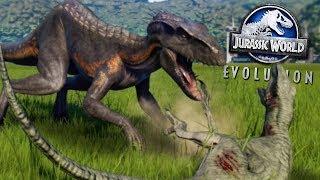 Download INDORAPTOR KILLING SPREE! - ALL NEW DLC DINOSAURS! - Jurassic World Evolution Video