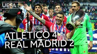 Download ATLÉTICO 4-2 REAL MADRID, UEFA SUPER CUP 2018 HIGHLIGHTS: Relive the action!! Video