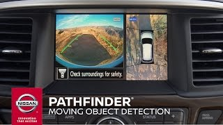 Download 2017 Nissan Pathfinder | AVM with Moving Object Detection Video