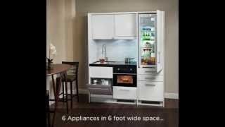 Download Compact kitchen - Everything Included 6 ft space Video
