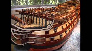 Download H.M.S. VICTORY Model Ship by Bill Video