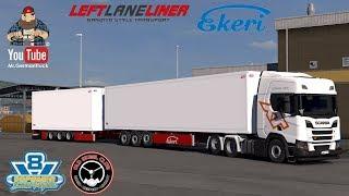 Download [ETS2 v1.32] Ekeri trailers by Kast v2.0 *Best Class Trailer* Video