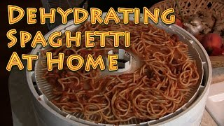 Download Dehydrating Spaghetti At Home EASY Video