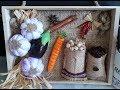 Download ديكور# الثوم والحبوب للمطبخ بخامات طبيعية و مسترجعة.DIY Fake garlic with plastic bag Video