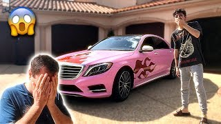 Download I Gave My Dads Car a MAKEOVER & He Was SO MAD... (crazy reaction) Video