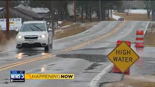 Download Columbia County: Pay attention to freezing on flooded roads Video