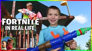 Download Fortnite Battle Royale In Real Life! Video