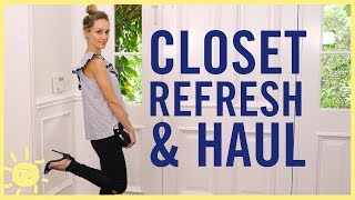 Download STYLE   3 Tips to Refresh Your Closet Video