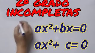 Download Aprende matemáticas: Ecuaciones segundo grado incompletas Video