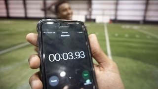 Download THE FASTEST 40 YARD DASH EVER! Video