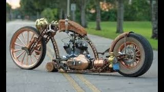 Download The Best of Rat Rod and Steampunk Motorcycles! Video