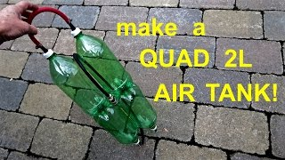 Download How to build ● a Long ● 2L Bottle Air Tank Video