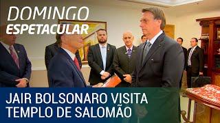 Download Jair Bolsonaro visita Templo de Salomão e é recebido por Edir Macedo Video